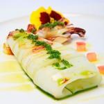 Calamar Plancha - Restaurante El Cruce - Alcalá del Júcar
