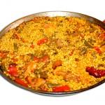 paella - Restaurante El Cruce - Alcalá del Júcar