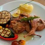 codornices-a-la-brasa - Restaurante El Cruce - Alcalá del Júcar