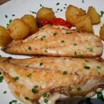 dorada-a-la-plancha - Restaurante El Cruce - Alcalá del Júcar
