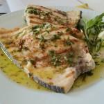 emperador-a-la-plancha - Restaurante El Cruce - Alcalá del Júcar
