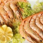 gamba-blanca-a-la-plancha - Restaurante El Cruce - Alcalá del Júcar