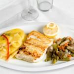 merluza-a-la-plancha - Restaurante El Cruce - Alcalá del Júcar