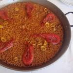 paella-de-carabineros - Restaurante El Cruce - Alcalá del Júcar