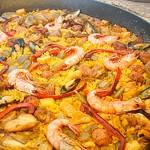 paella-mixta - Restaurante El Cruce - Alcalá del Júcar
