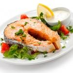 salmon-a-la-plancha - Restaurante El Cruce - Alcalá del Júcar