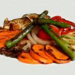 verdura-a-la-plancha - Restaurante El Cruce - Alcalá del Júcar
